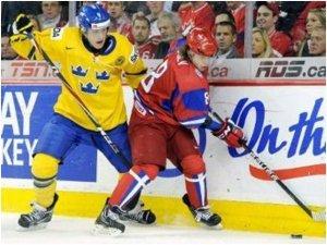 В финале молодежного чемпионата по хоккею наша сборная потерпела поражение