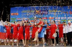 Российские пляжники легко разобралась со своими соперниками на московском Кубке Европы