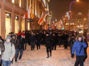 В Беларуси прошло шествие оппозиционеров, на котором были задержаны анархисты