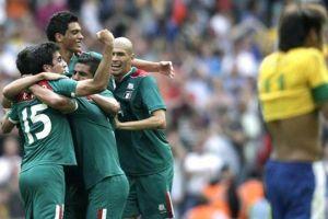 Победа сборной Мексики по футболу