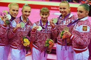 Российские гимнастки возглавили олимпийский пьедестал