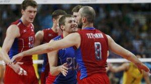 Сборная России по волейболу одолела бразильцев