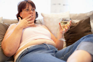 Употребление алкоголя – прямая дорога к ожирению