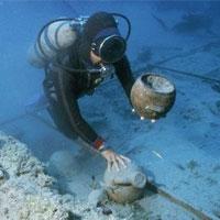 Древние артефакты пролежали не дне моря ещё 210 лет