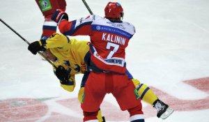 Россияне снова разгромили шведов на ледовом поле