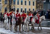 В Санкт-Петербурге состоялся конный парад, посвященный победе в войне 1812 года