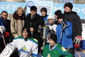 Стартовал открытый турнир по хоккею с шайбой на Кубок Инорса