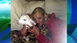 Что бы это означало: Волочковой подарили козла?