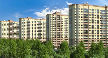 Квартиры в Подмосковье приобретают чаще, чем в столице