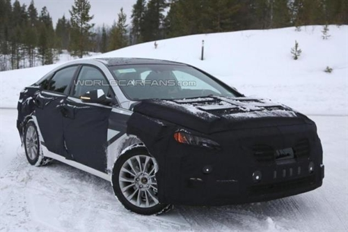 В сеть утекло фото гибрида Hyundai Sonata
