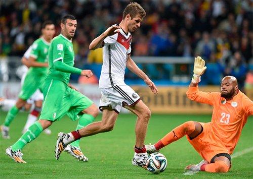 Сборная Германии лишила надежд на Кубок Алжир