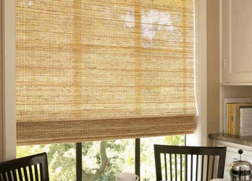 Бамбуковые жалюзи – безвредны и очень удобны