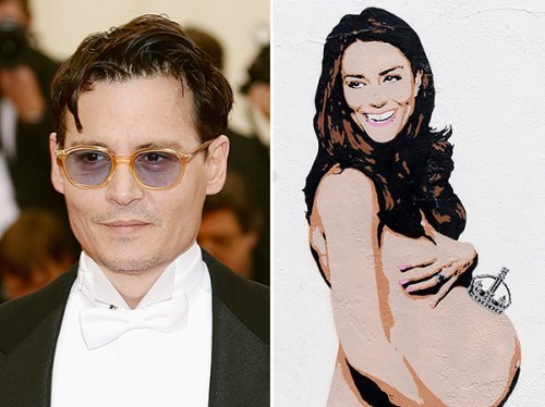У Джонни Деппа теперь есть обнаженная Кейт Миддлтон