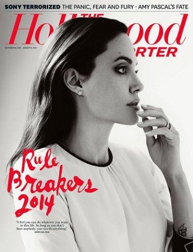 Анджелина Джоли украсила обложку январского номера The Hollywood Reporter
