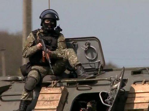 Танки силовиков пошли на Донбасс