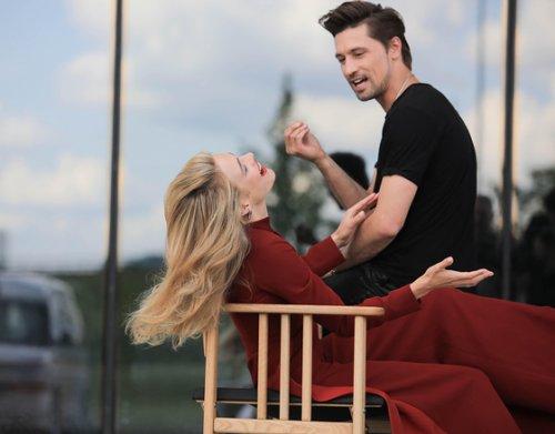 Дима Билан и Наталья Водянова снимутся в одном клипе