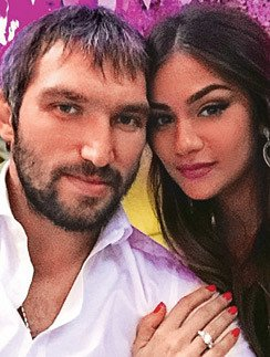 Александр Овечкин с Анастасией Шубской планируют венчание и свадьбу