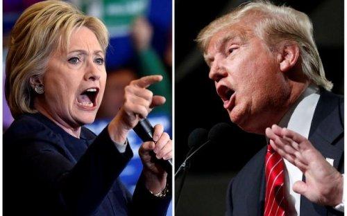 Миллиардер Дональд Трамп видит Хиллари Клинтон за решеткой