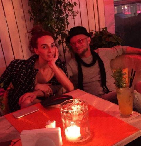 Екатерина Варнава и Дмитрий Хрусталев провели романтический вечер