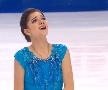 Евгения Медведева установила во Франции мировой рекорд в короткой программе