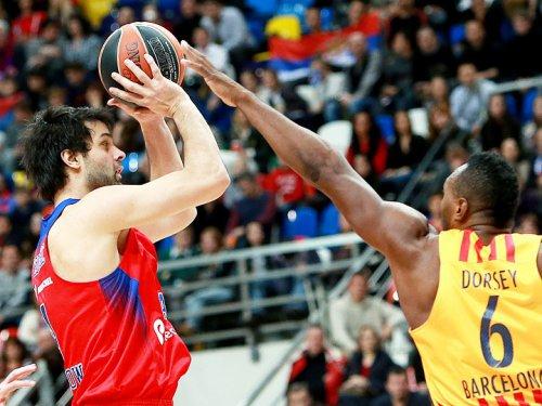 ЦСКА опустил «Барселону» на 11-е место в Евролиге