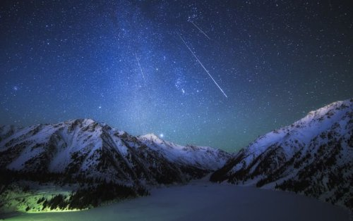 Завтра небо у Полярной звезды украсится ярким звездопадом