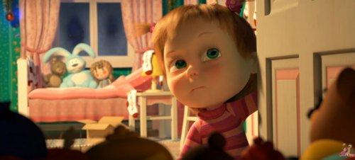 Маша «без Медведя»: вышла новая, новогодняя серия мультсериала