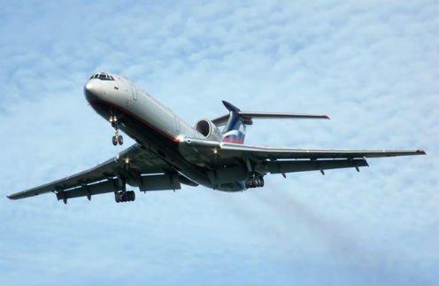 ВМинобороны назвали причину крушения Ту-154 вСочи