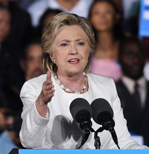Дональд Трамп раздавил Хиллари Клинтон