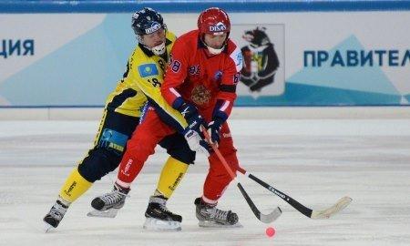 Сборная России разгромила сборную Казахстана на ЧМ-2017 по хоккею с мячом