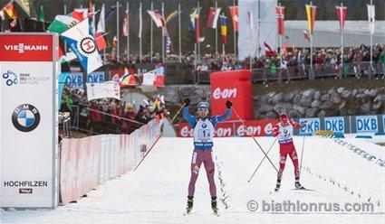 Завтра в Австрии стартует чемпионат мира по биатлону