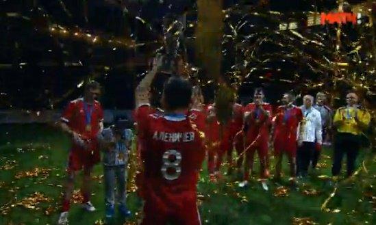 Сборная Российской Федерации обыграла Нидерланды на«Кубке Легенд— 2017»