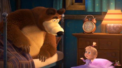 Как Маша и Медведь впадали в зимнюю спячку