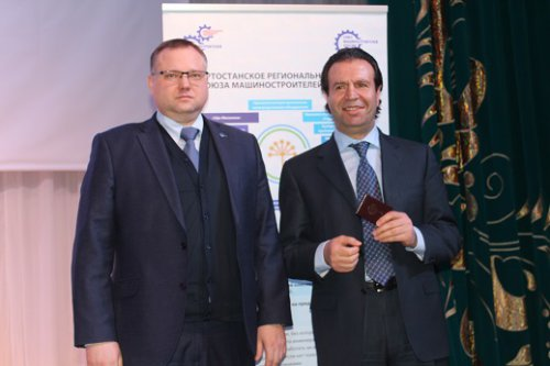 Заместитель Премьер-министра Правительства Республики Башкортостан Фархад Самедов стал членом Союза машиностроителей России