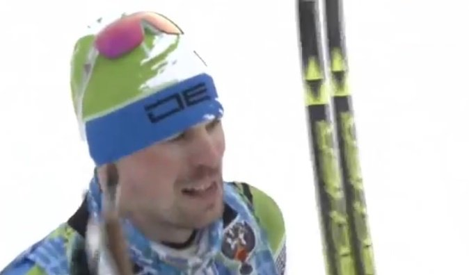 Брянский лыжник Александр Большунов завоевал бронзу начемпионате РФ полыжным гонкам