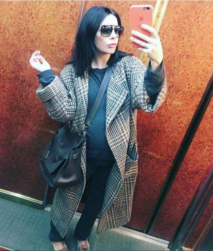 Стоцкая не бережет себя во время беременности