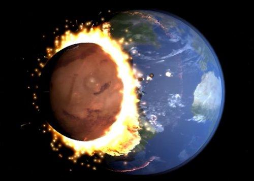 Марс угрожает Земле столкновением!
