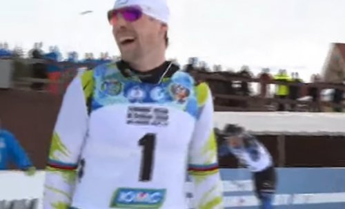 Устюговские мгновения победы: С. Устюгов победил в скиатлоне на чемпионате России по лыжным гонкам