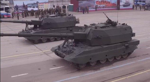 МинобороныРФ показало тренировку экипажей боевой техники кпараду Победы