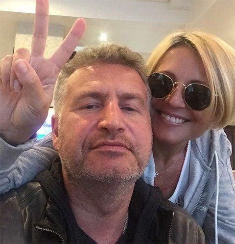 Анжелика Варум трогательно поздравила мужа Леню с Днем рождения
