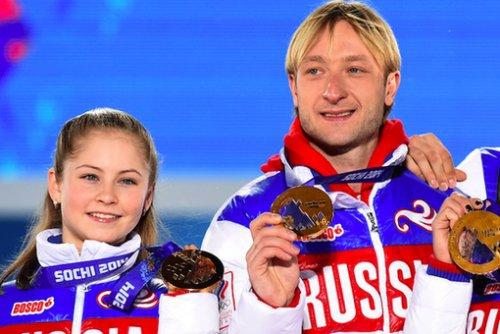 Юлия Липницкая вернулась на лёд