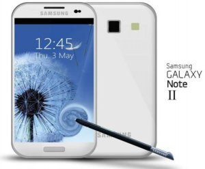 Samsung Galaxy Note II будет оснащен четырех ядерным процессором