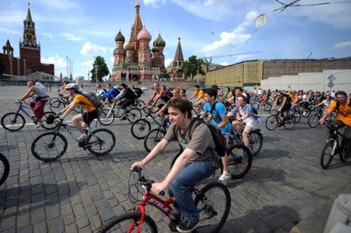 В Москве и области будут страховать велосипеды