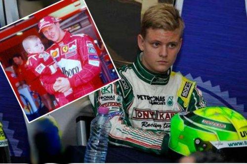 Шумахер-младший попал в аварию