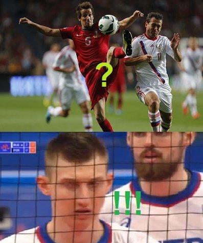 Россия может обыгрывать Португалию в Лиге Наций:  пост с новым спортивным анекдотом